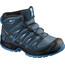Salomon Junior Xa Pro 3D Mid CSWP Shoes Mallard Blue/Reflecting Pond/Mykono